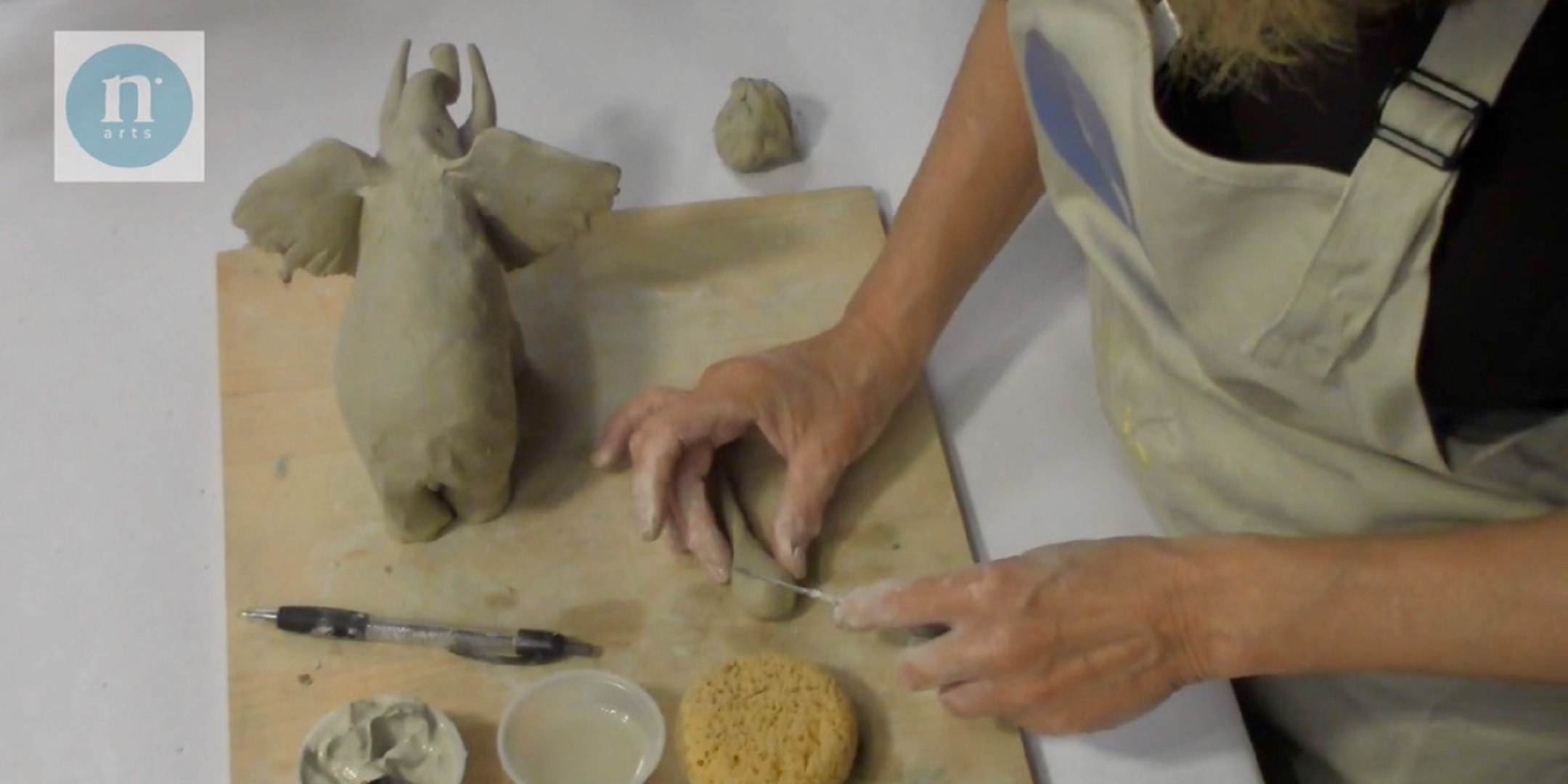 VIDEO: How To Make A Clay Elephant With Anne Pentland