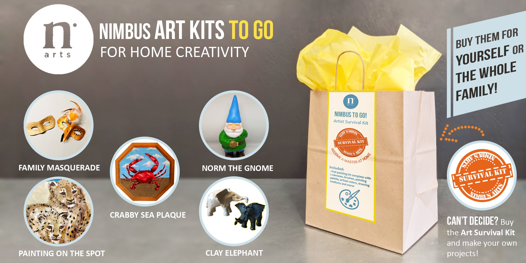 Nimbus Art Kits To Go Are Now Available!